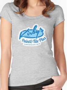 Kirby's Paint & Tile Plus Women's Fitted Scoop T-Shirt