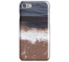 Strong Waves at Beach iPhone Case/Skin