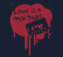 Love Is A Mix Tape... One Piece - Short Sleeve