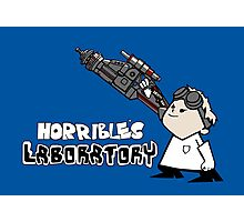 Horrible's Laboratory Photographic Print