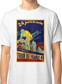 TOUR DE FRANCE; Vintage Bicycle Race Advertisment Classic T-Shirt