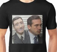 michael scott head halloween Unisex T-Shirt