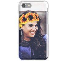 Regina mills flower crown  iPhone Case/Skin