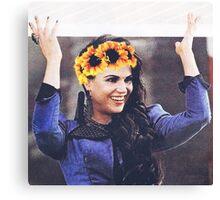 Regina mills flower crown  Canvas Print