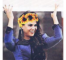 Regina mills flower crown  Photographic Print
