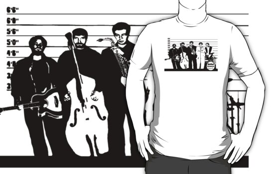 The Usual Suspects Band by natbern