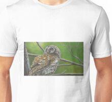 Barrel Owl Unisex T-Shirt