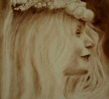 The Pearl Headdress  by Lynn Hughes