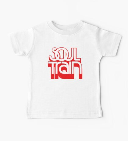 SOUL TRAIN (RED) Baby Tee