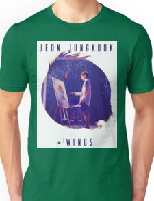 Wings - JungKook #WINGS Unisex T-Shirt