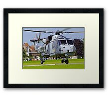 Wildcat Helicopter Framed Print