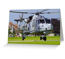 Wildcat Helicopter Greeting Card