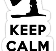 KEEP CALM KILL ALL ZOMBIES Sticker