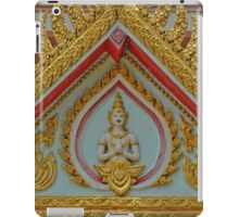 The Golden Buddha Temple of Surin, Thailand iPad Case/Skin