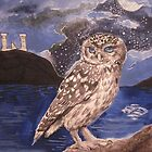 The Owl of Athena by Mandolin-Crow