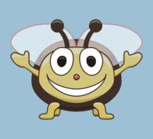 Cute Smiling Bee Kids T-shirt Kids Tee