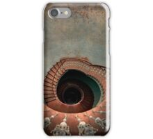 Vintage spiral staircase iPhone Case/Skin