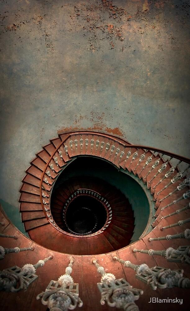 Vintage spiral staircase by JBlaminsky