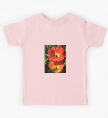 Ladies in Scarlet - Tulip Twins Kids Tee