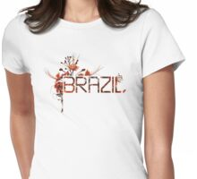 Flowering Brazil Womens Fitted T-Shirt