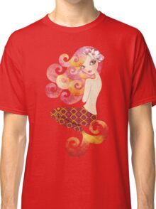 Coraleen, Mermaid in Pink Classic T-Shirt