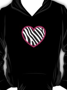 Zebra Heart T-Shirt