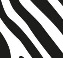 Zebra Heart Sticker