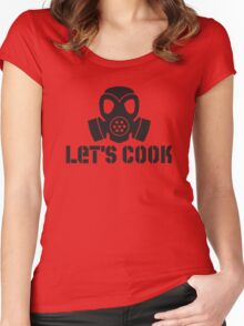Lets Cook Breaking Bad Women's Fitted Scoop T-Shirt