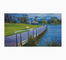 The Boardwalk at Lake Weeroona Bendigo Kids Tee