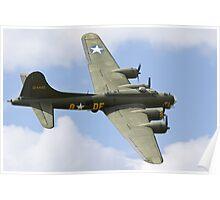 "Boeing B-17 ""Sally-B""  Poster"