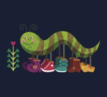 Caty Caterpillar One Piece - Short Sleeve