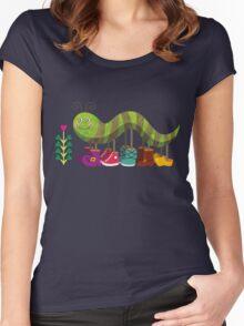 Caty Caterpillar Women's Fitted Scoop T-Shirt
