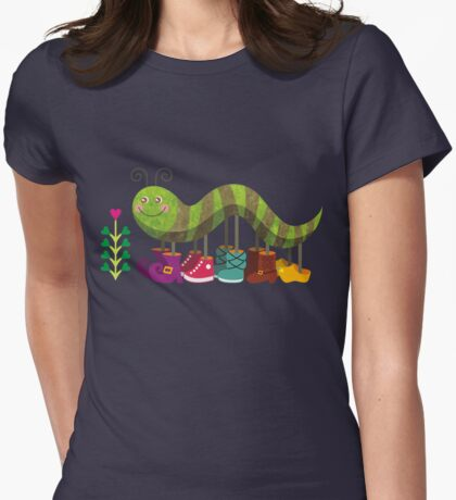 Caty Caterpillar Womens Fitted T-Shirt