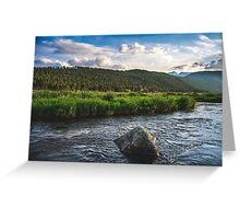 Rocky Mountain 2 Greeting Card