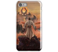 Warrior above the Sea of Fire iPhone Case/Skin