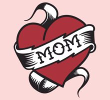 Mom Tattoo Kids Clothes