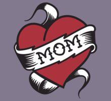 Mom Tattoo Kids Tee