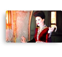Once upon a time evil queen recolour  Canvas Print