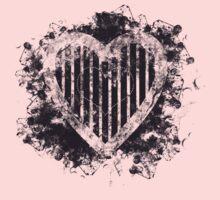 Love in your heart... Baby Tee