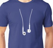 iPhone/Pod 5 earphones Unisex T-Shirt