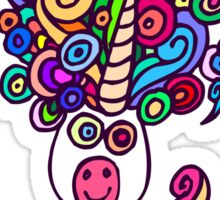 Unicorn Dream T-Shirt by Cheerful Madness!! Sticker
