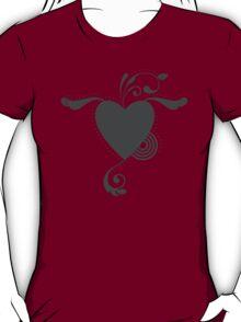 Cute Lovely Valentine Heart Vintage Grunge T-shirt T-Shirt