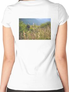 Rocky Mountain 4 Women's Fitted Scoop T-Shirt
