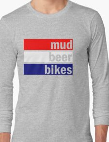 Cyclocross (red, white and blue) Long Sleeve T-Shirt
