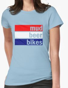 Cyclocross (red, white and blue) Womens Fitted T-Shirt