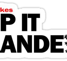 Keep it Vlaanderen Sticker