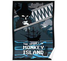 The Secret of Monkey Island - Le Chuck Poster