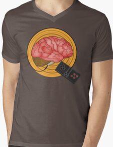 Brain Control Mens V-Neck T-Shirt