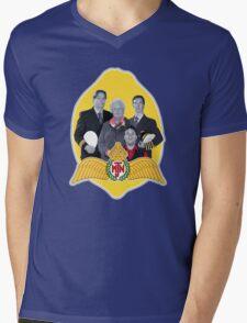 MJN crew/lemon Mens V-Neck T-Shirt