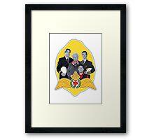 MJN crew/lemon Framed Print